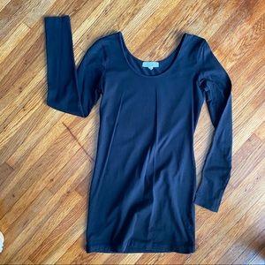Forever 21 Basic closet staple black long sleeve